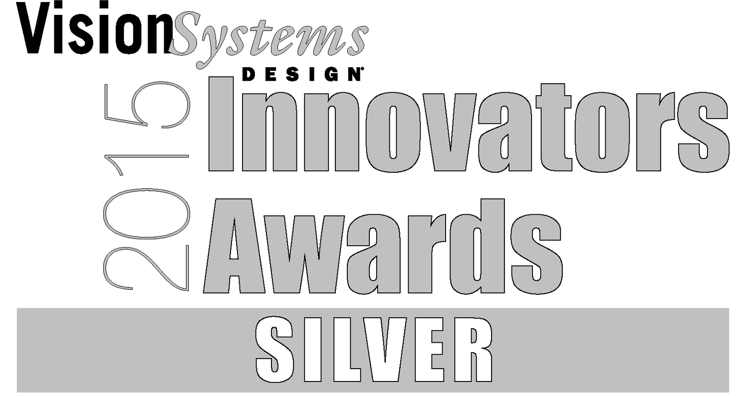 Vision Systems Design 2015 Innovators Awards Silver