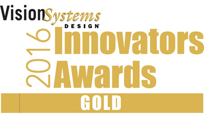 Vision Systems Design 2016 Innovators Awards Gold